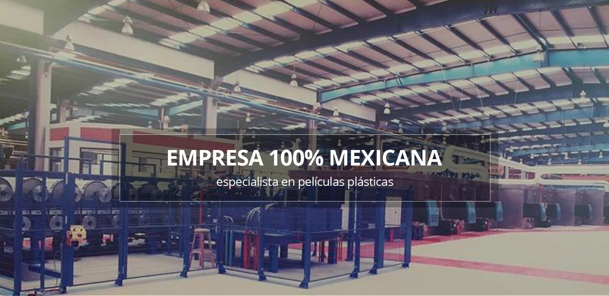 Empresa 100% Mexicana